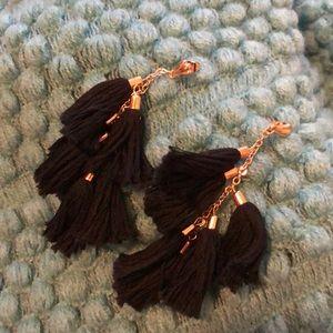 18k plated Tassel Earrings